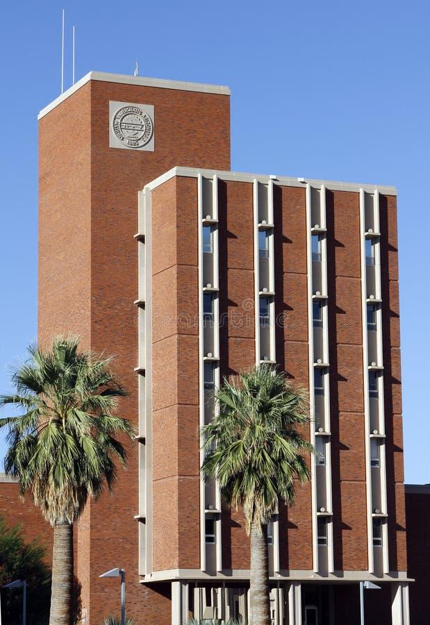 De de Universiteitsbouw van de Staat van Arizona, royalty-vrije stock afbeeldingen