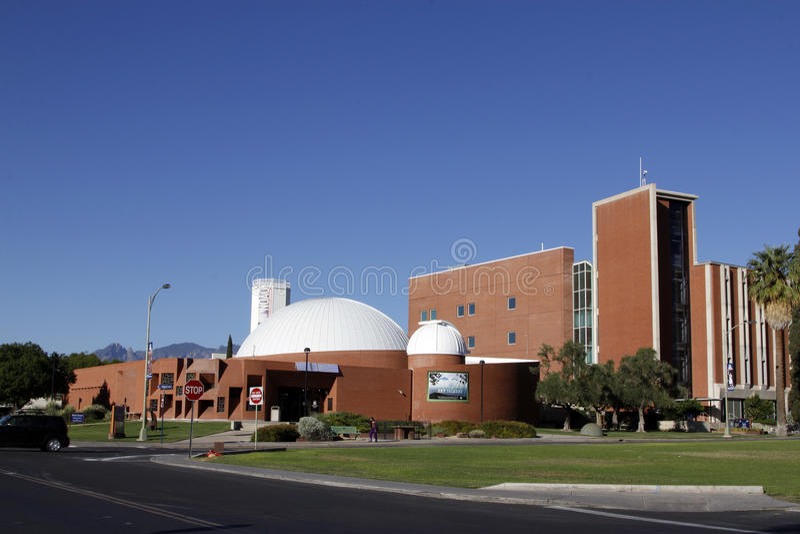 De de Universiteitsbouw van de Staat van Arizona, royalty-vrije stock foto