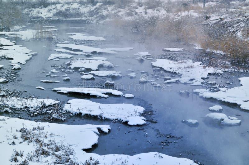 De de winterochtend royalty-vrije stock foto's
