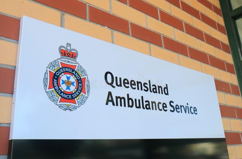 De de Ziekenwagendienst Australië van Queensland royalty-vrije stock fotografie