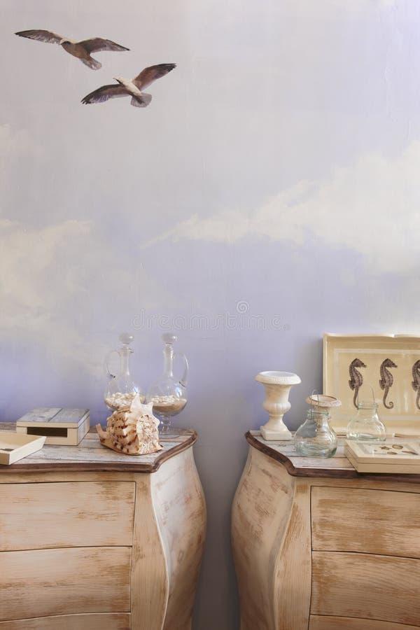 De decoratie overzeese van de huisgreep het levenselementen royalty-vrije stock fotografie