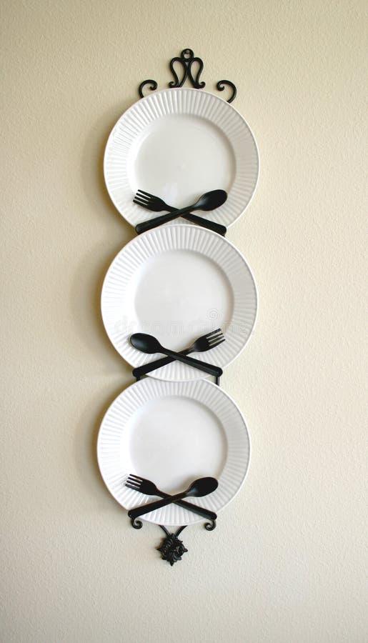 De Decoratie van de keuken stock foto's