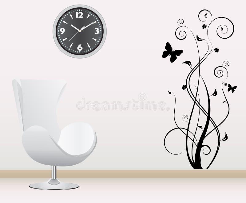De decoratie van de muur stock illustratie