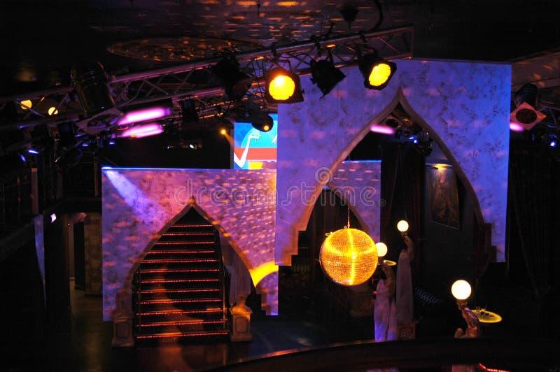 De decoratie van de nachtclub royalty-vrije stock foto's