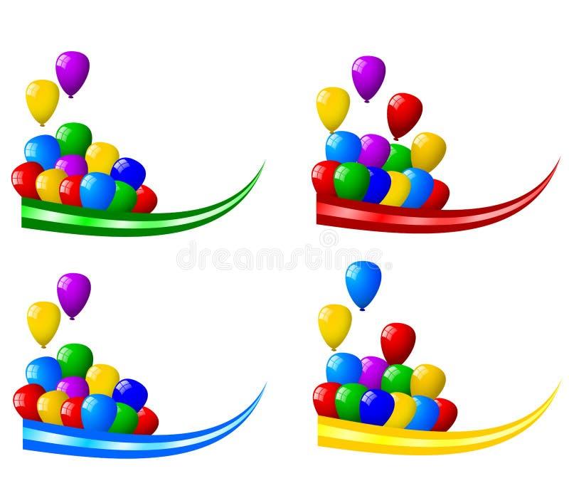 De decoratie van de partij royalty-vrije illustratie