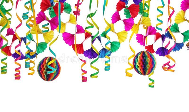 De decoratie van de partij stock afbeelding