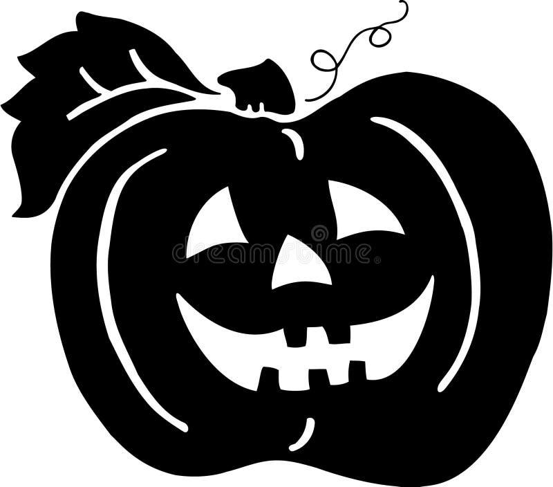 De decoratie van Halloween vector illustratie