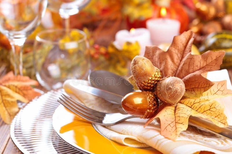 De decoratie van het dankzeggingsdiner stock afbeeldingen