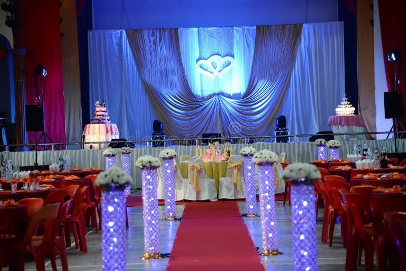 De decoratie van het huwelijk royalty-vrije stock foto
