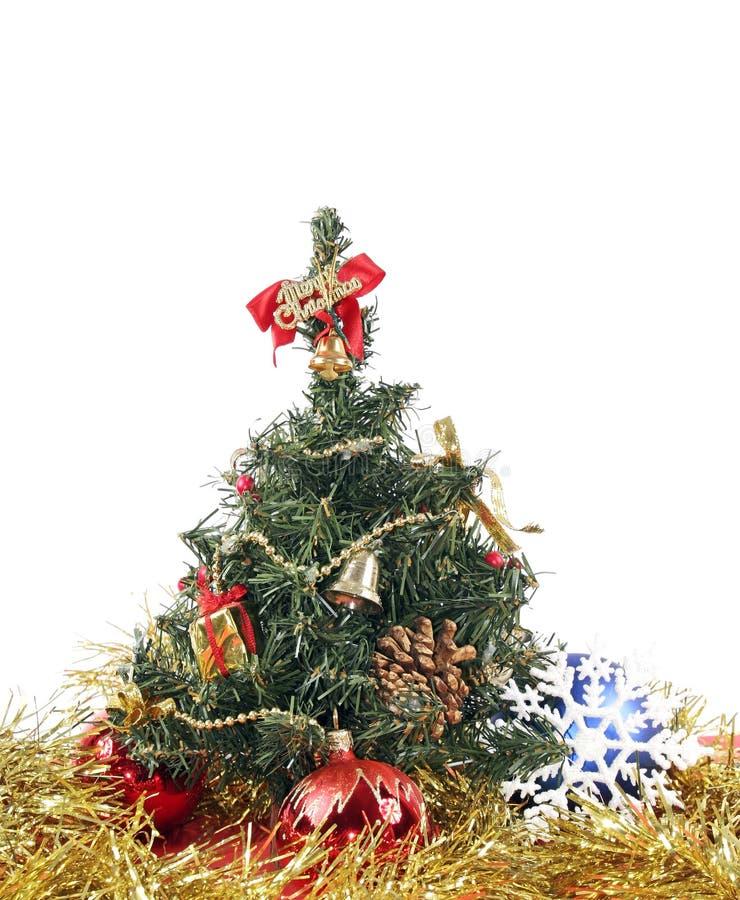 De decoratie van het nieuwe jaar stock afbeelding
