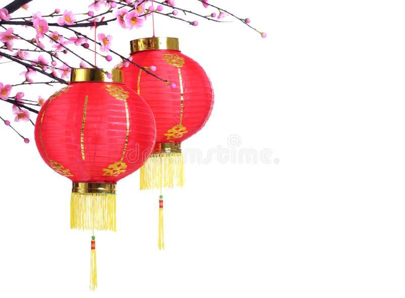De Decoratie van het Nieuwjaar van Chinse stock afbeeldingen