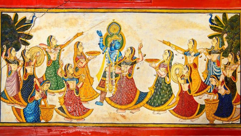 De decoratie van het Paleis Dungarpur royalty-vrije stock afbeeldingen