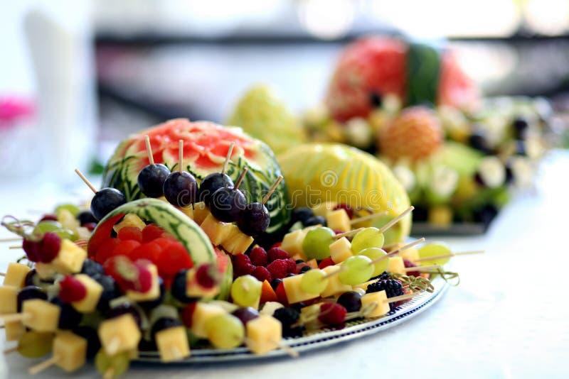 De decoratie van het voedsel royalty-vrije stock fotografie
