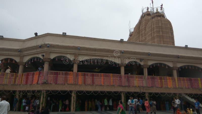 De decoratie van de Jagannathtempel voor Rathyatra in ahmedabad stock foto's