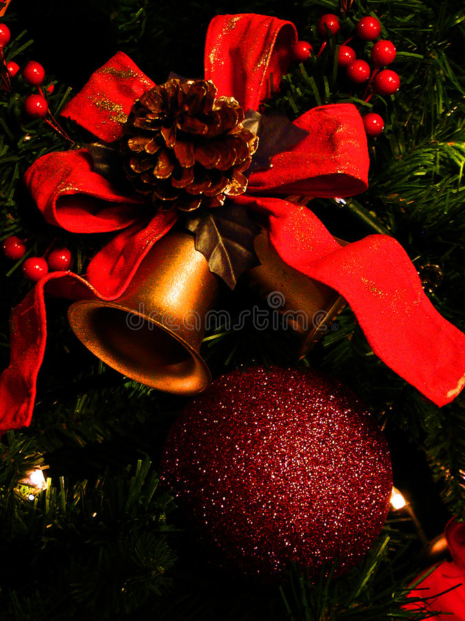 De decoratie van Kerstmis stock foto