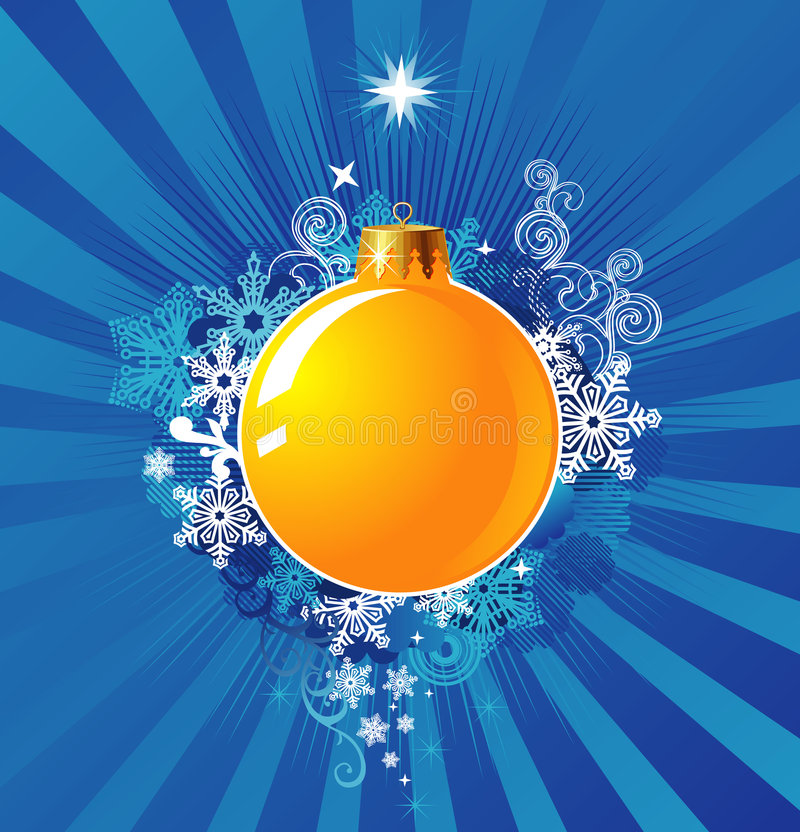De Decoratie van Kerstmis/AchtergrondConcept/vector stock illustratie
