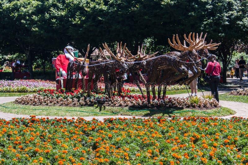 De Decoratie van Kerstmis van Petropolis van de nova royalty-vrije stock afbeelding