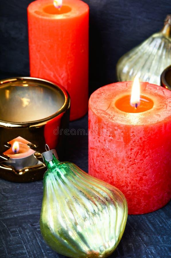 De Decoratie van de Kerstmisvakantie royalty-vrije stock afbeeldingen