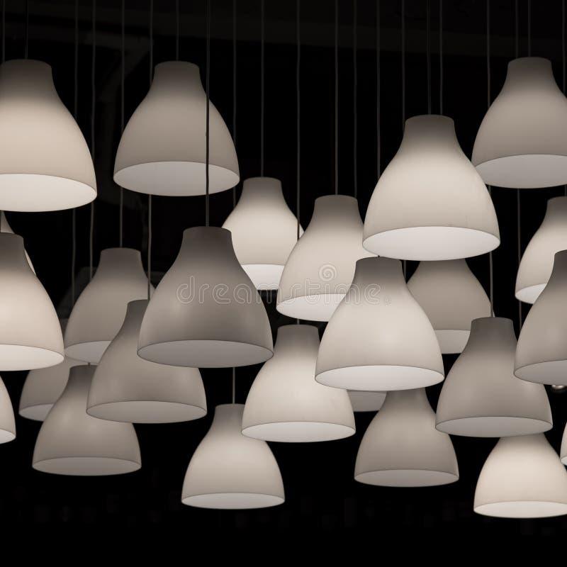De decoratie van de lampverlichting royalty-vrije stock afbeelding