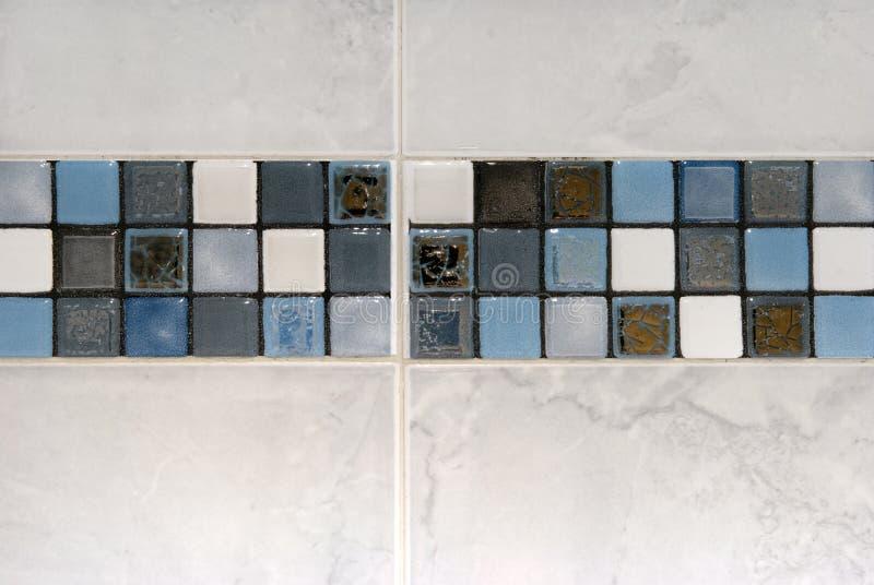 De decoratie van tegels stock foto