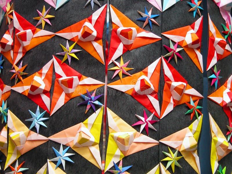 De decoratiedetail van de origami royalty-vrije stock foto