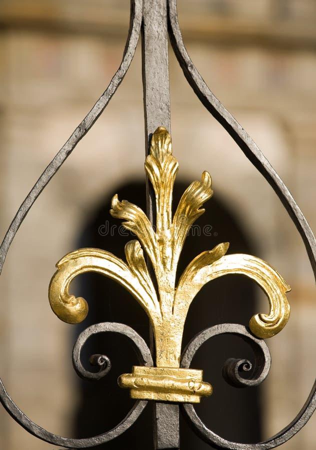 De decoratiedetail van het metaal royalty-vrije stock foto
