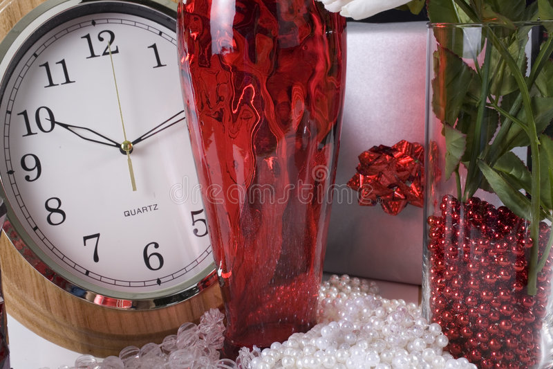 De decoratieopstelling van Kerstmis royalty-vrije stock fotografie