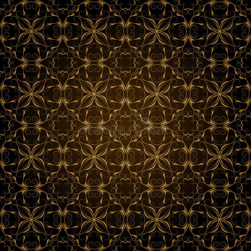 De decoratieve Achtergrond van het Patroon royalty-vrije illustratie