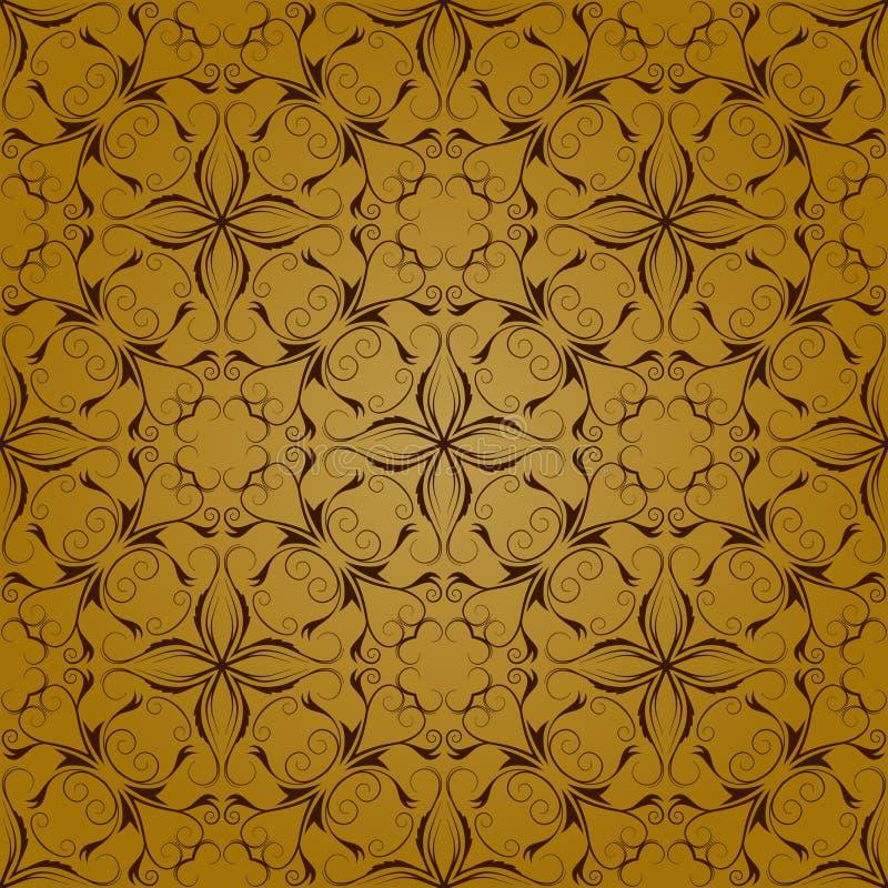 De decoratieve Achtergrond van het Patroon vector illustratie