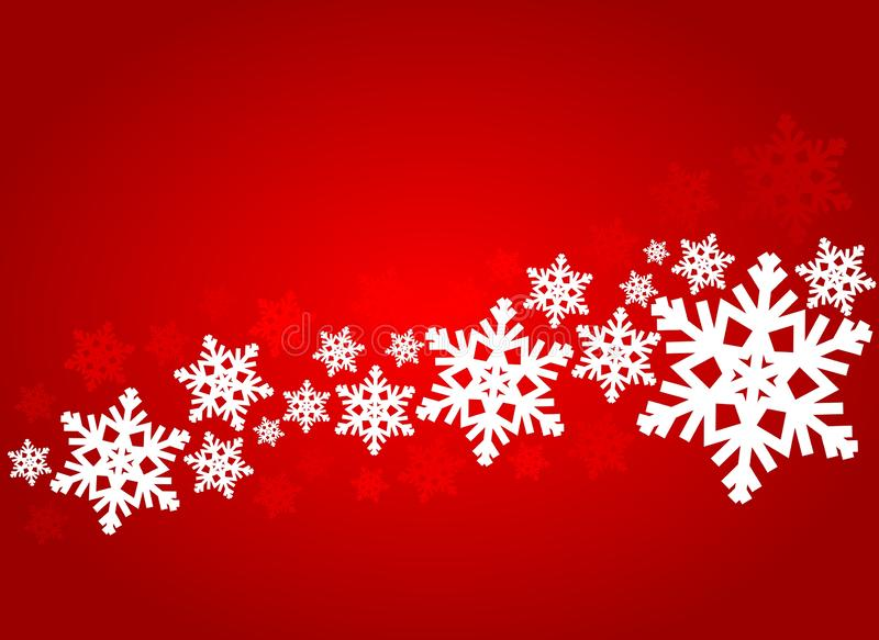 De decoratieve Achtergrond van Kerstmis royalty-vrije stock afbeelding
