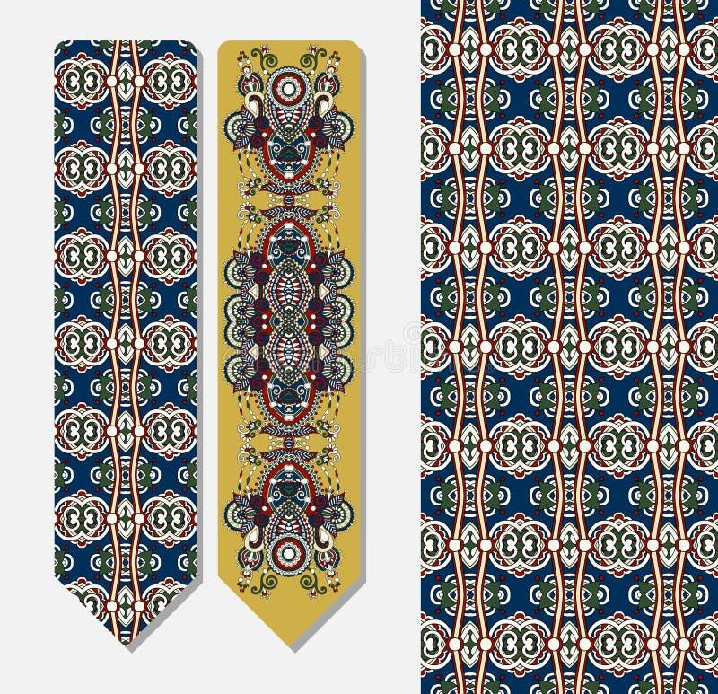 De decoratieve etnische referentie van Paisley voor druk vector illustratie