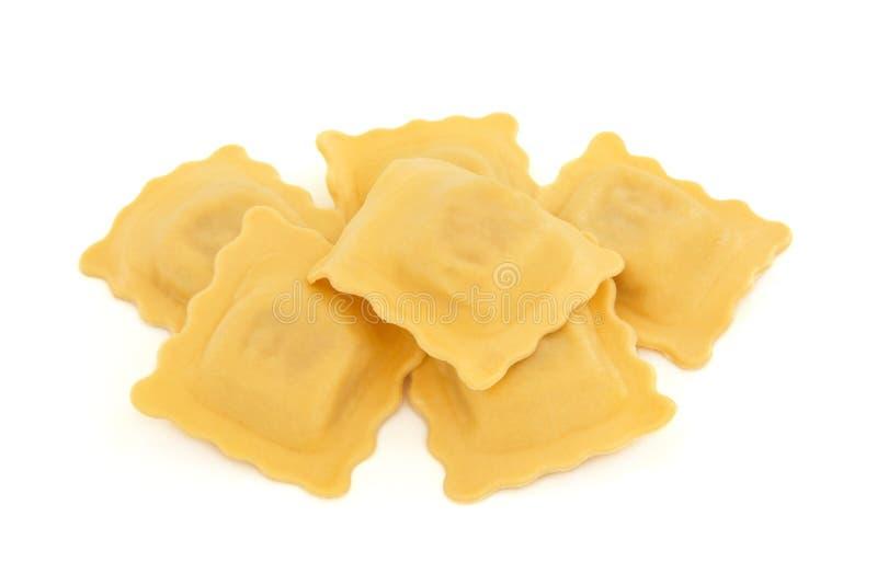 De Deegwaren van de ravioli stock afbeelding