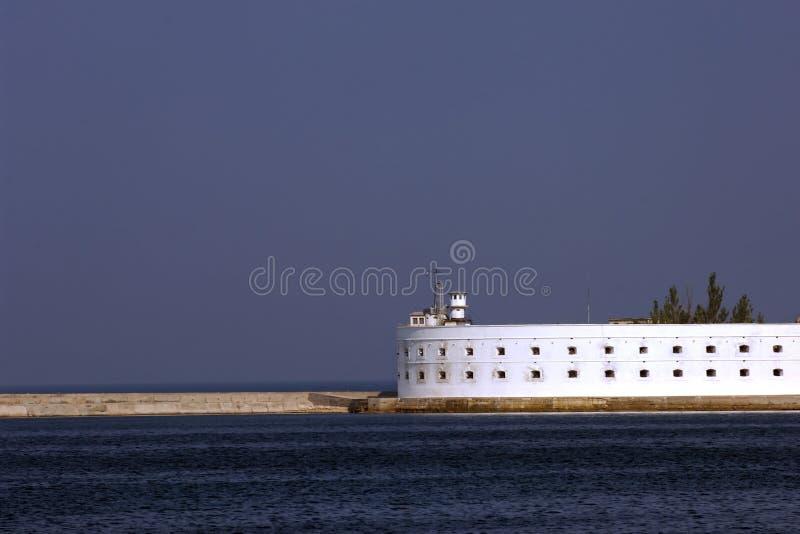 De defensiefort van Sebastopol stock foto's