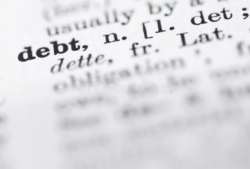 Geld Definitie In Engels Woordenboek Stock Afbeelding
