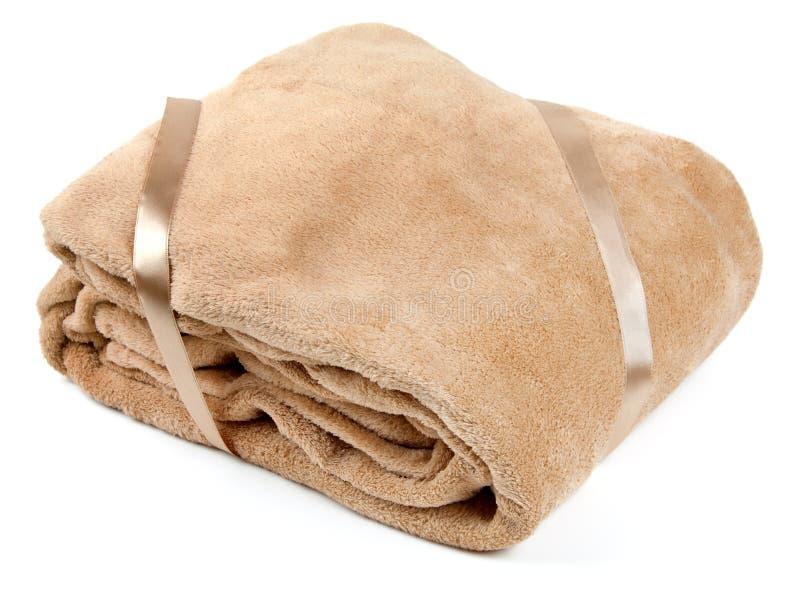 De deken van de vacht stock foto
