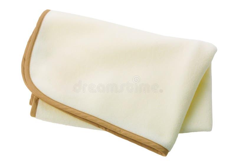 De deken van de vacht royalty-vrije stock afbeelding