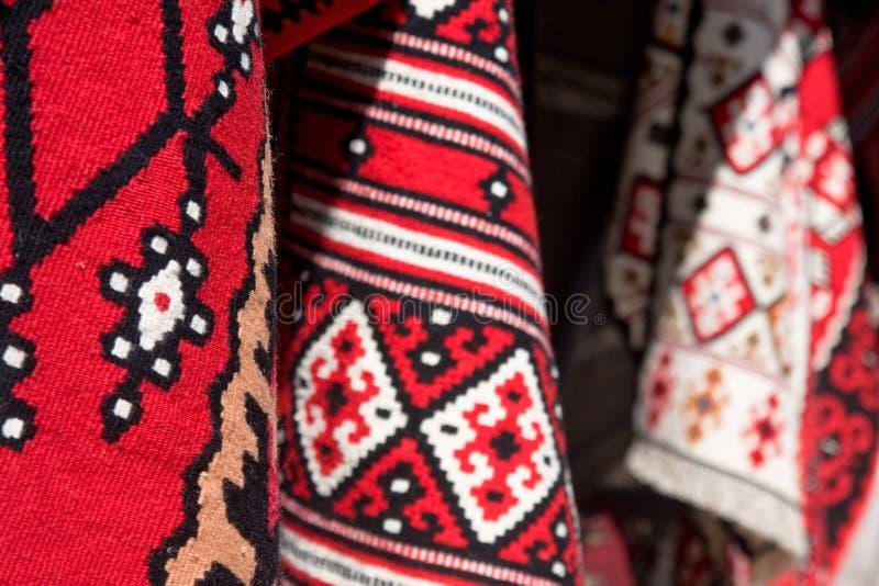 De deken van het tapijt stock afbeelding