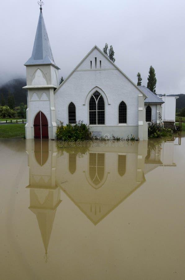 De Dekking Nieuw Zeeland van de Wateren van de vloed stock afbeeldingen