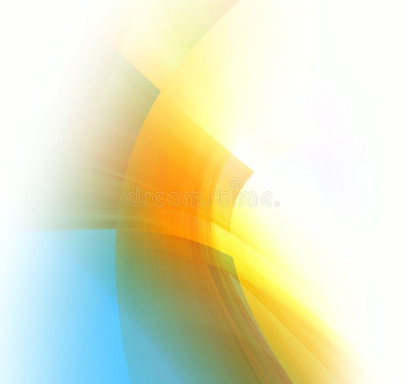 De dekking van de abstractie royalty-vrije illustratie