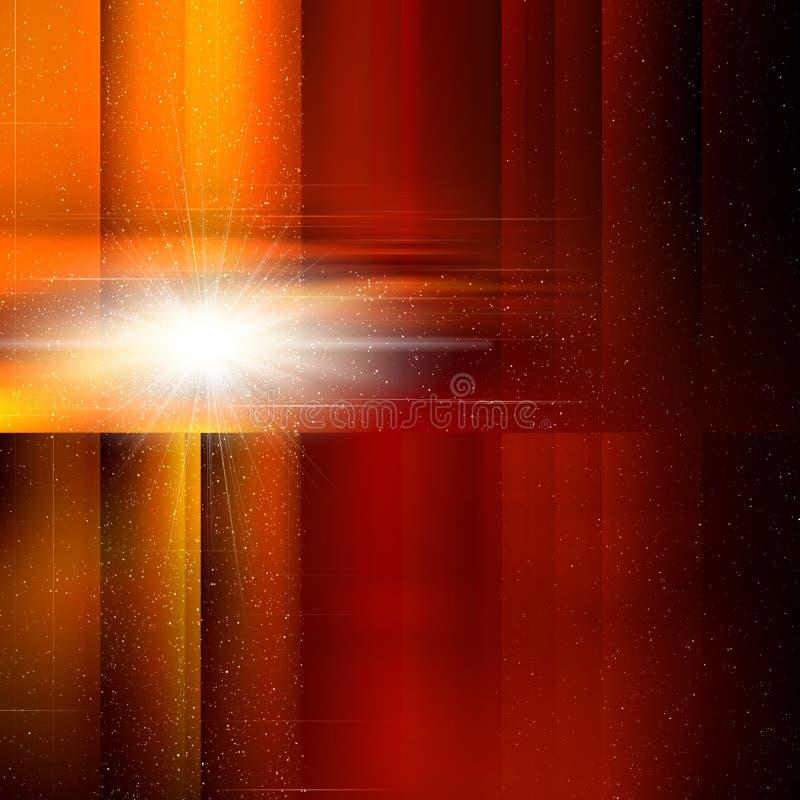 De dekking van de abstractie voor ontwerp stock illustratie