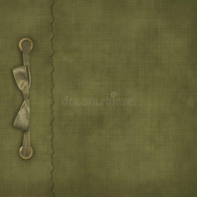 De dekking van Grunge voor een album met foto's stock illustratie