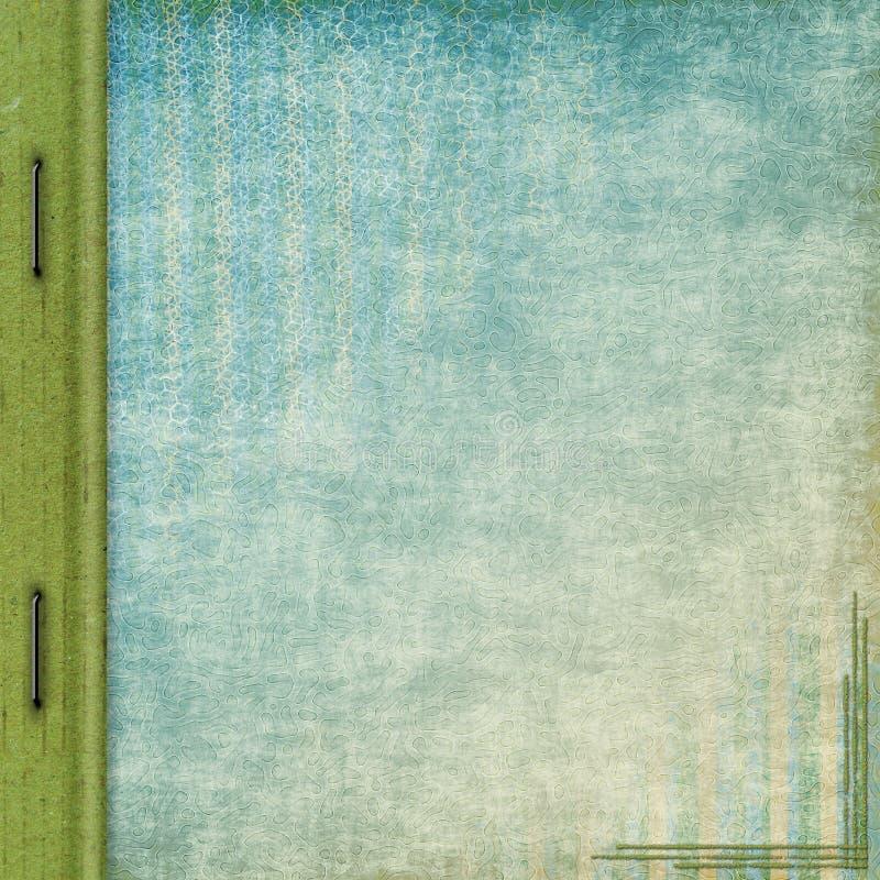 De dekking van het album royalty-vrije illustratie