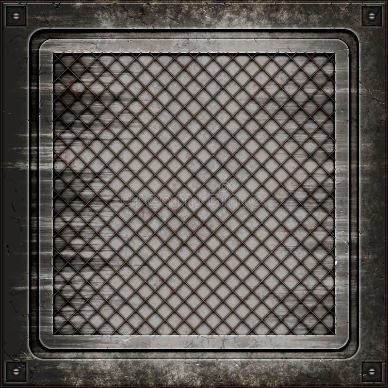 De dekking van het mangat (Naadloze textuur)