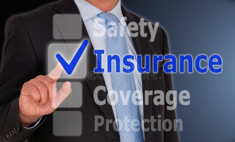 De Dekkingsbescherming van de verzekeringsveiligheid stock fotografie