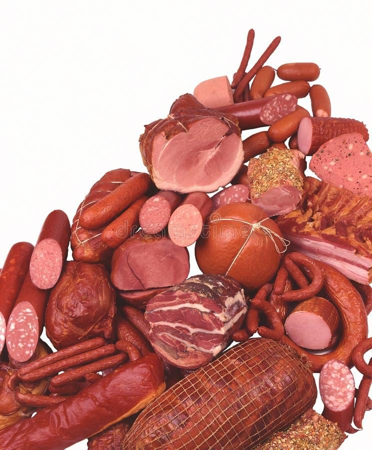 De Delicatessen van het vlees royalty-vrije stock fotografie