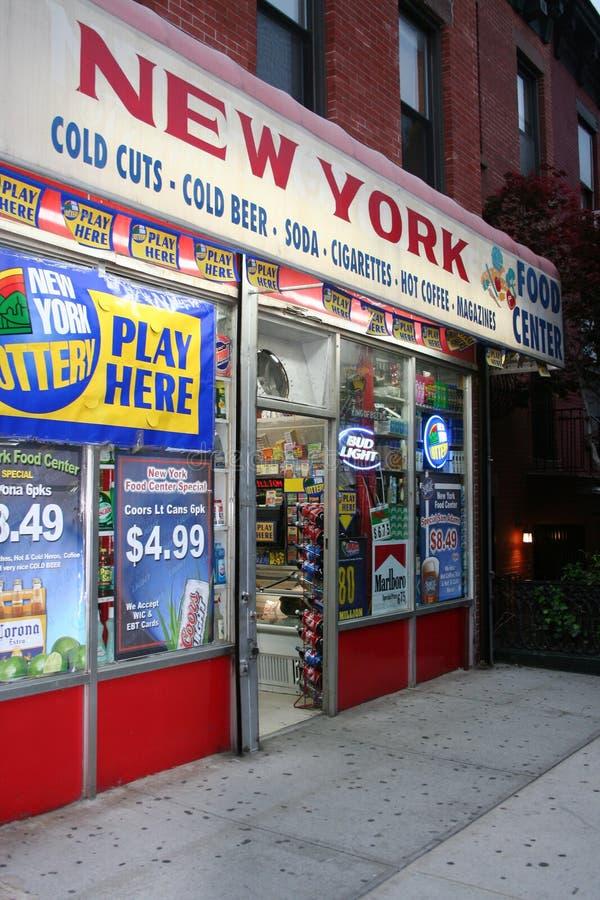 De Delicatessenwinkel van New York stock foto