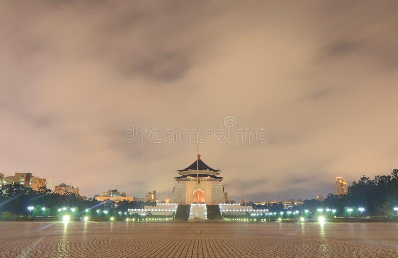 De Democratie Memorial Park Taipeh Taiwan van Taipeh royalty-vrije stock afbeelding