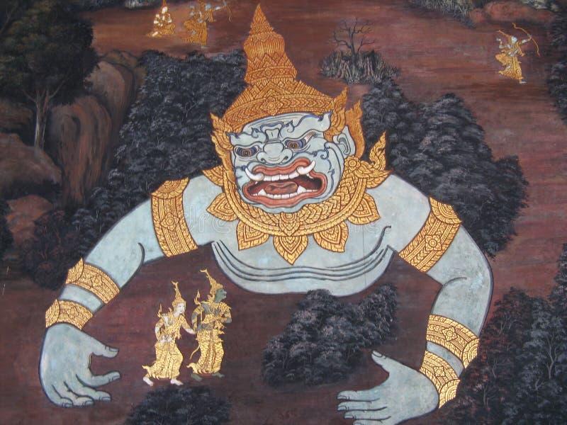 De Demon van Bangkok royalty-vrije stock afbeeldingen