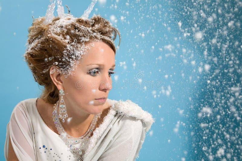 De depressie van de winter stock foto's
