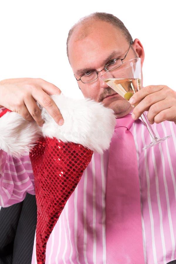 De depressie van Kerstmis royalty-vrije stock fotografie